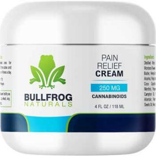 Pain Relief Cooling Cream With Hemp Oil | 4oz Jar