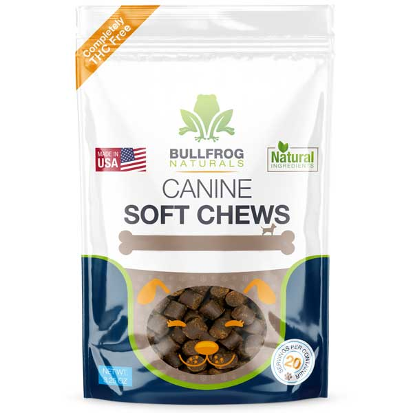 Buy Bullfrog Hemp Oil Pet Treats Online