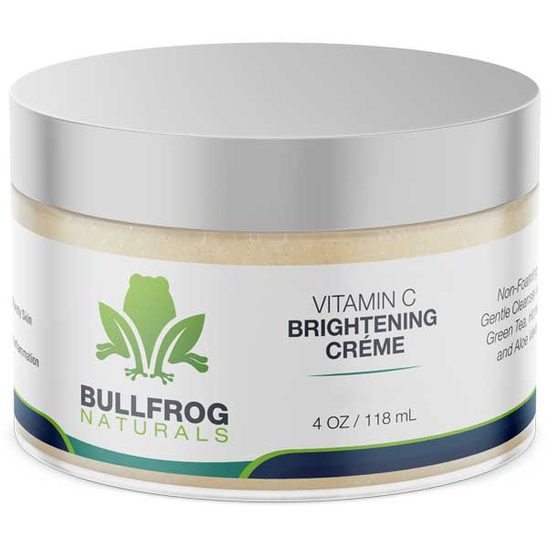 Brightening Facial Creme with Vitamin C and 350MG of Hemp Oil